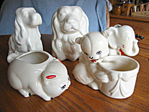 Vintage Animal Planter Assortment