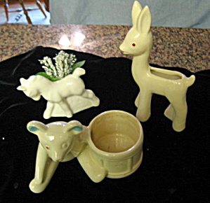 Vintage Novelty Animal Planters
