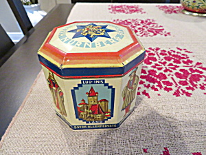 Nurnberg German Vintage Tin