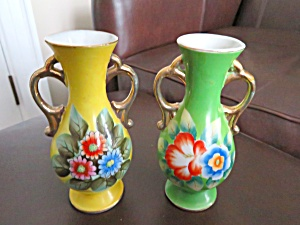 Occupied Japan Porcelain Vases