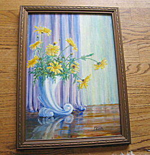 Signed Vintage Oil Painting (Image1)
