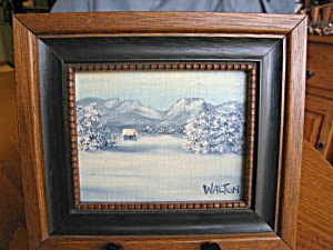 Walton Winter Landscape Oil Painting (Image1)