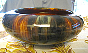 Brush Mccoy Onyx Low Vase