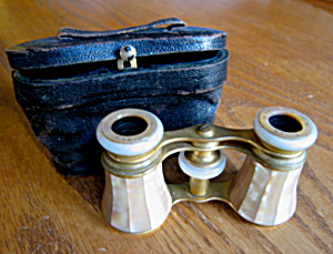 Antique MOP French Opera Glasses (Image1)