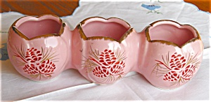 Vintage Triple Planter Vase (Image1)