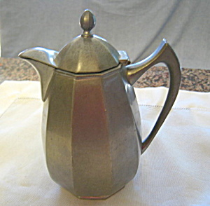 Pairpoint Pewter Pitcher