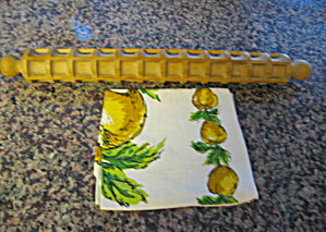 Pasta Rolling Pin and Towel Vintage (Image1)