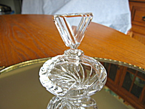 Estate Crystal Perfume Bottle