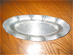 Vintage Poole Pewter Tray