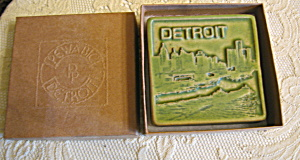 Pewabic Pottery Detroit Art Tile