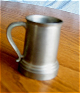 Vintage Miniature Pewtertankard