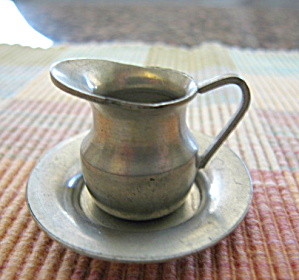 Conn. House Pewter Mini Pitcher & Bowl