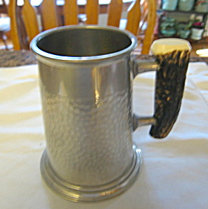 Pinder Bros. Hammered Pewter Tankard