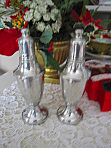 Web Weighted Pewter Shakers