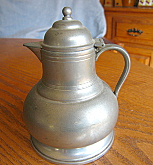 Queen Art Pewter Syrup Pitcher
