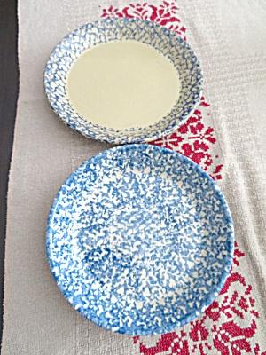Spongeware Pie Dishes (Image1)