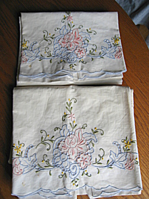 Openwork Vintage Pillowcases