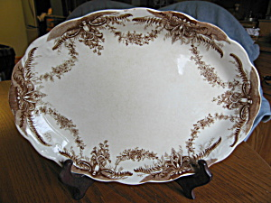 Antique Transferware Platter