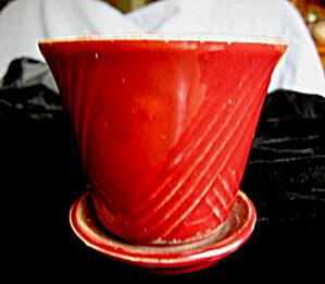 Vintage Pot & Saucer (Image1)