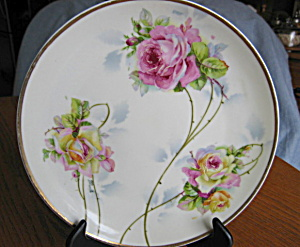 Hand Painted Display Plate