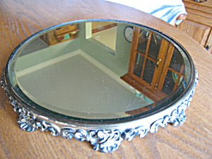 Large Victorian Beveled Mirror