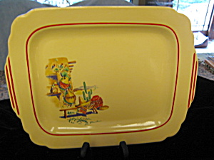 Homer Laughlin Mexicana Platter (Image1)