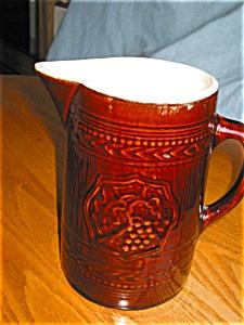 Antique McCoy Pottery Pitcher (Image1)