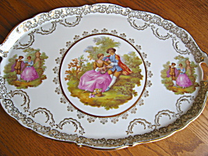 Collectible German Porcelain Tray