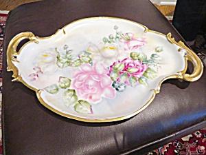 Large Vintage Porcelain Tray  (Image1)