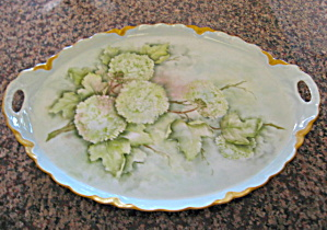 Porcelain Tray Artist Signed