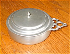 Kmd Royal Holland Pewter Trophy Porringer