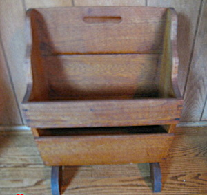 Primitive Vintage Wood Rack
