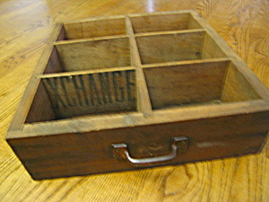 Primitive Wood Box Drawer