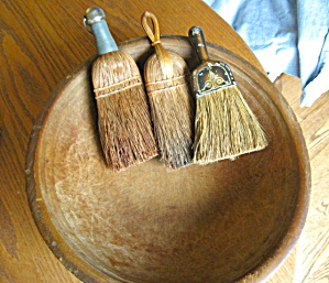 Primitive Brooms and Bowl (Image1)