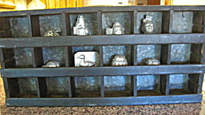 Primitive Wood & Metal Shelf Rack (Image1)