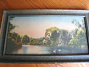 Antique Colorized Framed Print