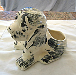 Puppy Pottery Planter Vintage (Image1)