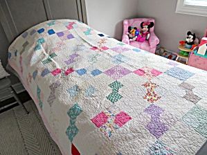 Signed Dated Vintage Quilt