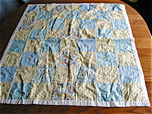 Small  Doll Crib Quilt (Image1)