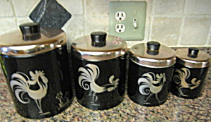 Ransburg Kitchen Cannister Set