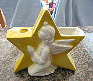 Royal Copley Anjel Candle Planter (Image1)