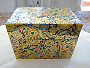 Vintage J. Chein Recipe Box (Image1)