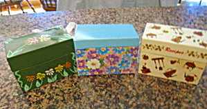 Ohio Art Recipe Boxes