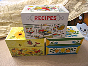 Recipe Box Trio