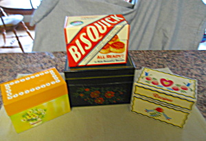 Four Recipe Boxes w/Recipes (Image1)