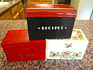 Recipe Box Vintage Assortment