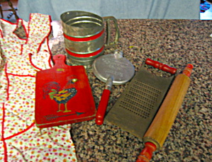 Red Vintage Kitchen Gadgets (Image1)