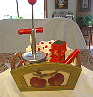 Vintage Kitchen Red Gadgets