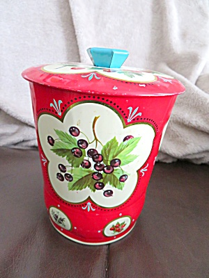 Vintage Red Tin (Image1)