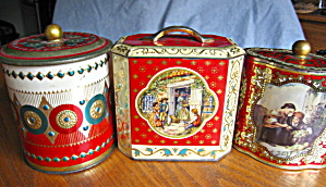 Vintage Tins Red Assortment